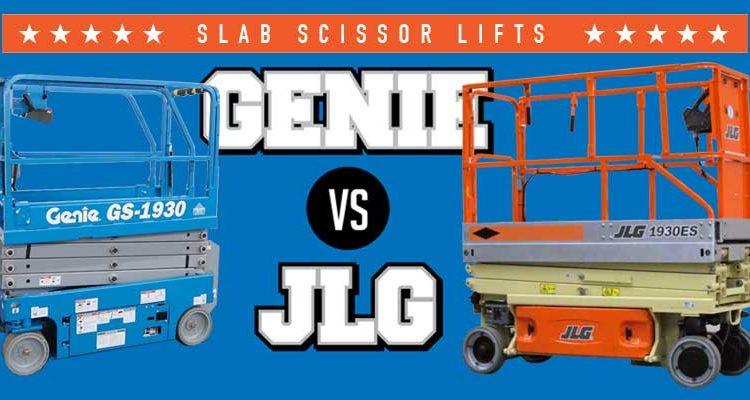 Genie scissor lift JLG lift comparison
